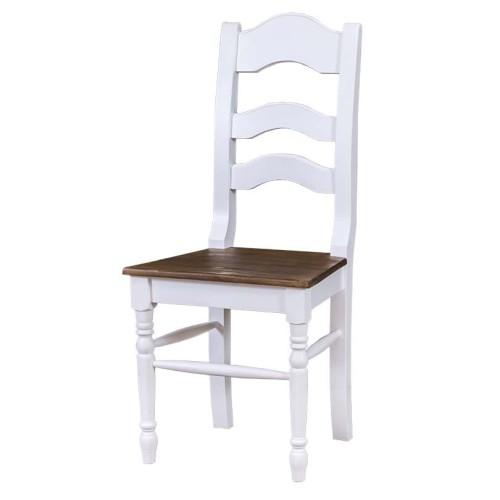 Krzesło Prowansalskie Z Toczonymi Nogami