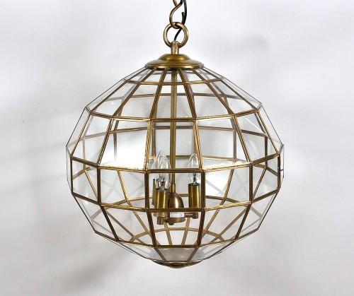 Lampa Wiszaca Zlota Kula Gold Line Belldeco