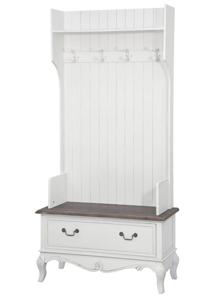 Garderoba Biała Do Przedpokoju Rimini White
